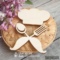 Деревянный декор ScrapBox - Шеф-повар Wfo-006
