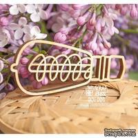 Деревянный декор ScrapBox - Винтажная лампочка Wfo-008