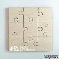 Деревянный декор ScrapBox - Пазлы Wfo-014