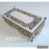 Деревянный декор ScrapBox - Шкатулка ажурная Wfs-002