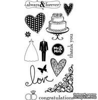 Набор акриловых штампов Hampton Art - Wedding