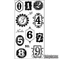 Набор акриловых штампов Hampton Art - Numbers