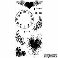 Набор акриловых штампов Hampton Art - Clock