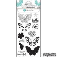 Набор штампов от Hampton Art - Layer Butterfly
