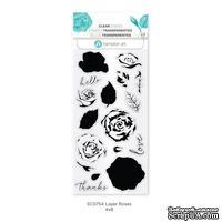 Набор штампов от Hampton Art - Layer Roses