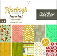 Набор бумаги Studio Calico - Yearbook, 15х15 см, 36 листов