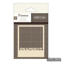 Высечки Studio Calico - Classic Calico 3 Die-Cut Polaroid Frames