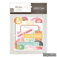 Высечки Studio Calico - Sundrifter Cardstock Die-Cuts