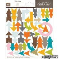 Набор наклеек Studio Calico - Here And There Cardstock Stickers - Arrows