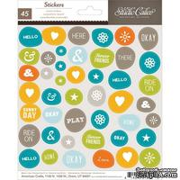Набор наклеек Studio Calico - Here And There Cardstock Stickers - Accents