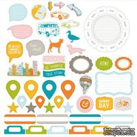 Высечки Studio Calico - Here And There Cardstock Die-Cuts - Shapes