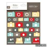 Набор наклеек из чипборда Studio Calico - Snippets Chipboard Stickers - Cameras