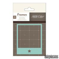 Высечки Studio Calico - Snippets Die-Cut Cardstock Polaroid Frames