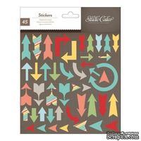 Набор наклеек из чипборда Studio Calico - Snippets Stickers - Chipboard Arrows