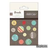 Брадсы Studio Calico - Snippets Epoxy Brads
