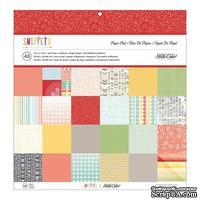 Набор скрапбумаги Studio Calico - Snippets Paper Pad, размер 30х30 см, 24 листа