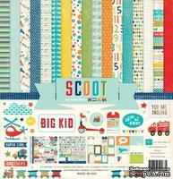 """Набор бумаги от Echo Park """"Scoot"""", 30x30, 12 листов"""