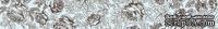 """Бумажный скотч с принтом """"Голубые розочки"""", ширина 15 мм, длина 8 м"""