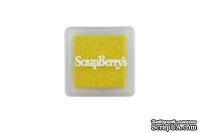 Пигментные чернила от Scrapberry's - Мерцающий солнечно-жёлтый