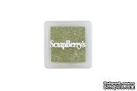 Пигментные чернила от Scrapberry's -Мерцающий оливковый