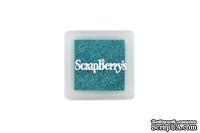 Пигментные чернила от Scrapberry's -Мерцающий бирюзовый
