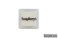 Пигментные чернила от Scrapberry's -Мерцающий белый