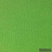 Кардсток текстурный ярко-зеленый, 30,5*30,5 см, 216 гр/м SCB 172312058