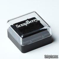 Пигментные чернила от ScrapBerry's, 2,5x2,5 см, ЧЕРНЫЕ