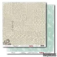 Лист бумаги для скрапбукинга  от ScrapBerry's - Версаль - Маскарад