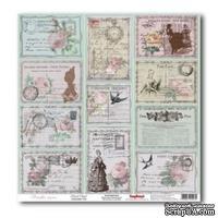 Лист бумаги для скрапбукинга  от ScrapBerry's - Версаль - Карточки Королевская  часовня