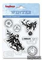 Набор силиконовых штампов от ScrapBerry's - Зима, набор 1