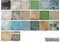 Набор бумаги для скрапбукинга Районы-Кварталы, 30,5х30,5 см, 10 листов от ScrapBerry's - Районы - Кварталы