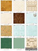 Набор бумаги для скрапбукинга Зимний Дневник, 30,5х30,5 см, 6 листов от ScrapBerry's - Зимний дневник