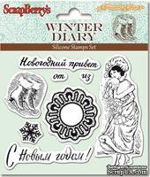 Набор штампов  от ScrapBerry's - Зимний дневник-3