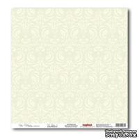 Лист бумаги для скрапбукинга 30,5х30,5 см Свадебная, нежно-зеленый 4