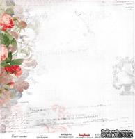 Лист бумаги для скрапбукинга от ScrapBerry's - Легенда, Элегия, 30,5 х 30,5 см