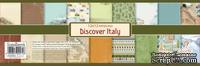 Набор бумаги для скрапбукинга от ScrapBerry's - Итальянские каникулы, 30,5 х 30,5 см, 9 листов