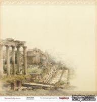Лист бумаги для скрапбукинга от ScrapBerry's - Итальянские каникулы - Древний Рим, 30,5 х 30,5 см