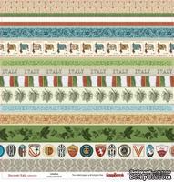Лист бумаги для скрапбукинга от ScrapBerry's - Итальянские каникулы - Ювентус, 30,5 х 30,5 см