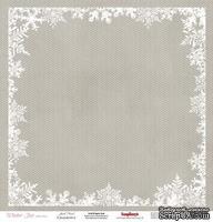 Лист бумаги от Scrapberry's - Морозко, Зимнее утро, 30x30см