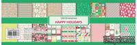 Набор бумаги от Scrapberry's - Зимние каникулы, 30,5х30,5 см, 180 гр/м, двусторонние, 9 листов