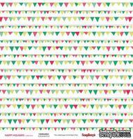 Лист бумаги от ScrapBerry's - К празднику -Зимние каникулы, 30x30см