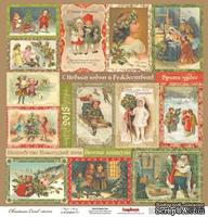 Карточки для вырезания от Scrapberry's - Ночь перед - Рождеством - Волшебная история, 30,5х30,5 см 180 гр/м, двухсторонний, 1 лист