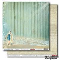 Бумага для скрапбукинга 30,5х30,5 см 180 гр/м двосторон Курортный роман - Маленькие радости