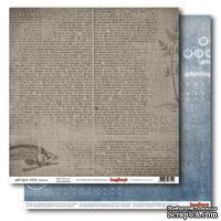 Бумага для скрапбукинга 30,5х30,5 см 180 гр/м двосторон Лавка древностей - Старые корабли