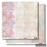 Лист бумаги для скрапбукинга 30,5х30,5 см 180 гр/м двусторон Цветные сны -  Облако цветов