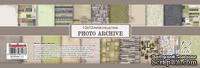 Набор бумаги для скрапбукинга от ScrapBerry's - Фотоархив, 30,5х30,5 см., 12 листов,   200 гр/м