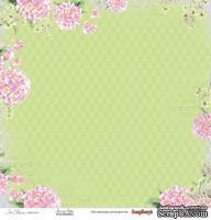 Бумага для скрапбукинга от ScrapBerry's - Цветущий Сад - Мелодия весны, 1 лист, 30,5х30,5 см 190 гр/м, односторонняя