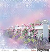 Бумага для скрапбукинга от ScrapBerry's - Цветущий Сад - Цветущий Сад, 1 лист, 30,5х30,5 см, 190 гр/м, односторонняя