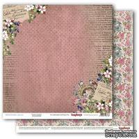 Бумага для скрапбукинга от ScrapBerry's - Бохо - Цветущий Сад , 1 лист, 30,5х30,5 см, 190 гр/м, двусторонняя